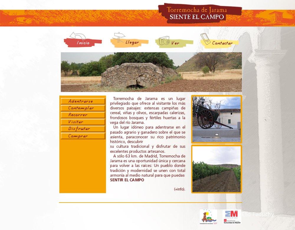 Página principal web Torremocha